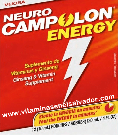 neuro campolon energy vitaminasenelsalvador