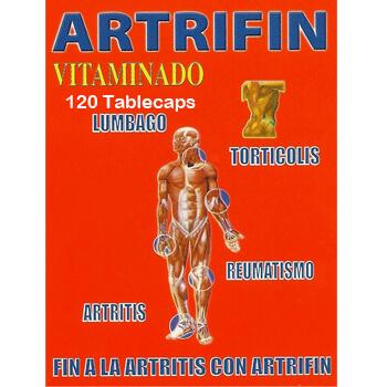 Vida sin dolor con ARTRIFIN VITAMINADO 120 Tabletas