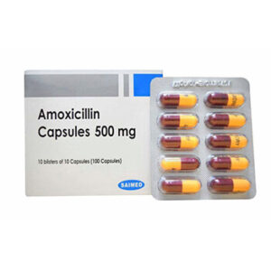 Elimine esa infeccion con Amoxicilina 500mg Saimed