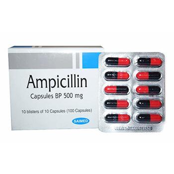 Sin infecciones con Ampicilina 500mg Saimed