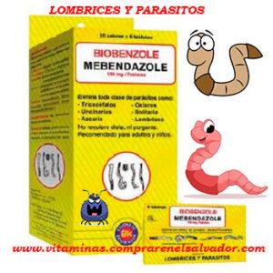 Desparasitante BIOBENZOLE (MEBENDAZOLE)
