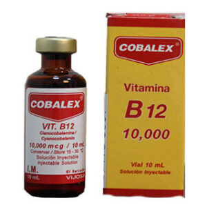 COBALEX Vitamina B12 Vial 10ml 3Pack (Inyecciones)