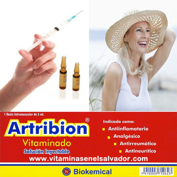 ARTRIBION VITAMINADO INYECCION TRIPACK