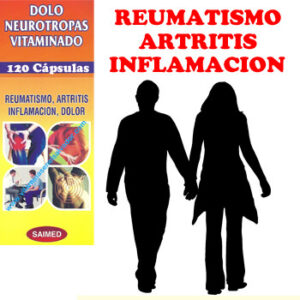 Sin dolor con DOLO NEUROTROPAS VITAMINADO 120 Cápsulas
