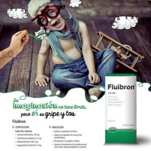 FLUIBRON Jarabe para la gripe y tos