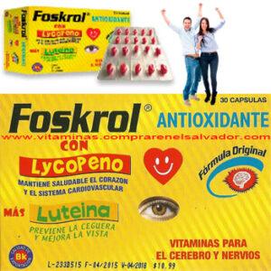 Foskrol Antioxidante Cápsulas 3Pack