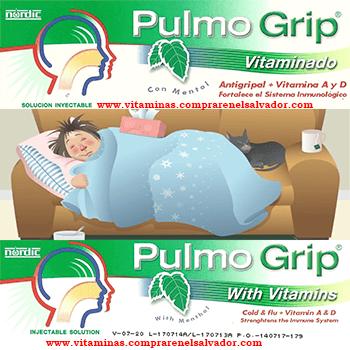 Pulmo Grip Vitaminado Inyectable TRIPACK