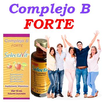 Complejo B FORTE Vial 10ml 3Pack (Inyecciones)