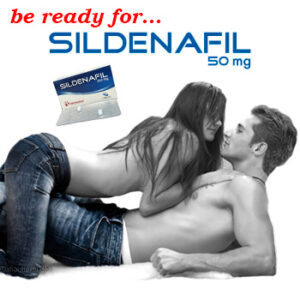 SILDENAFIL 50mg Potenciador Sexual