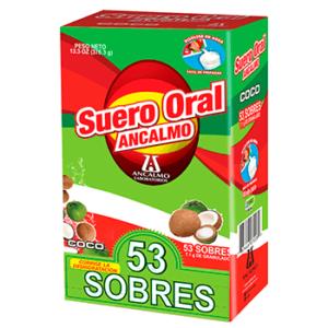 SUERO ORAL DE ANCALMO EN POLVO SOBRE 4PACK - COCO